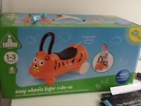 Easy wheels tiger ride on