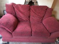 Free 2 seater sofa. Really comfy!
