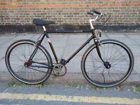 Vintage Raleigh singlespeed Fixie bike