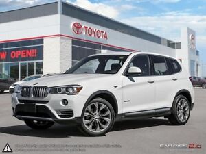 2015 BMW X3 xDrive28i - WOW X3! SUNROOF - AWD