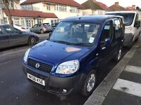Fiat doblo 2008 disabled wheelchair access with. 1.4 petrol engine with 27300 miles