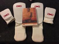 Karate pads & DVD