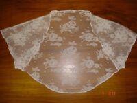 Ivory lace bridal bolero