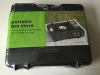 BRAND NEW!!!! BLACK - NEVER USED - still in Packaging PORTABLE GAS STOVE!!!