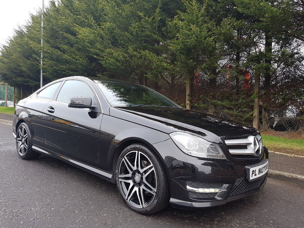 Stunning 2013 mercedes c class amg sport plus coupe c220 cdi automatic just serviced 1years mot - Mercedes c220 coupe amg sport ...