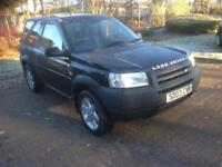 HO HO HO ,STUCK IN THE SNOW ☃️❄️🌨 EXCELLENT VERY LOW MILEAGE FREELANDER YEARS MOT FOR ONLY
