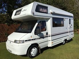 Auto Trail Cheyenne Motorhome (1997), 5 Berth, end kitchen, awning, bike rack, good condition