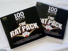 5x CD box set, The Rat Pack, 100 Classic Hits