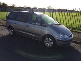 2006 ford galaxy 1.9 tdi (7 seater) a lovely people carrier