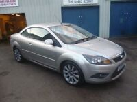 Great looking Ford FOCUS CC,1997 cc Hard Top Convertible,FSH,Sports interior,Graphite Grey wheels