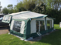 Pennine Pathfinder 6 Berth Folding Camper/Trailer Tent
