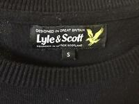 Lyle & Scott Jumper.. Black