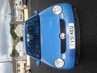 51 PLATE VW LUPO 1.0L, BRAND NEW MOT, LOW MILEAGE AND VERY GOOD CONDITION- £650