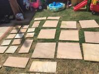 Bradstone natural sandstone patio slabs