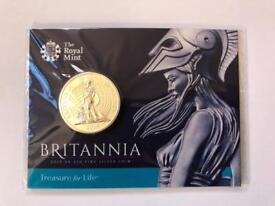 Britannia £50 Fine Silver Coin - Royal Mint UK 2015