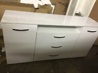 Hygena Hayward Large Sideboard - White