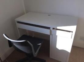 IKEA desk and swivel chair SOLD