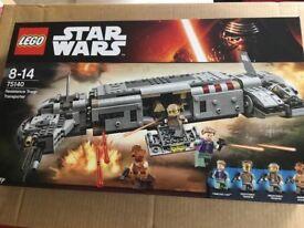 Lego Star Wars sets brand new 75140, 75173 75162, 75160,