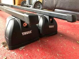 Thule roof bars Vw Audi Skoda 2017