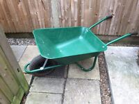 Second hand but in good condition wheel barrow