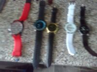 brand new watches in brand new working order diferent makes