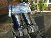 OBaby twin push chair for sale