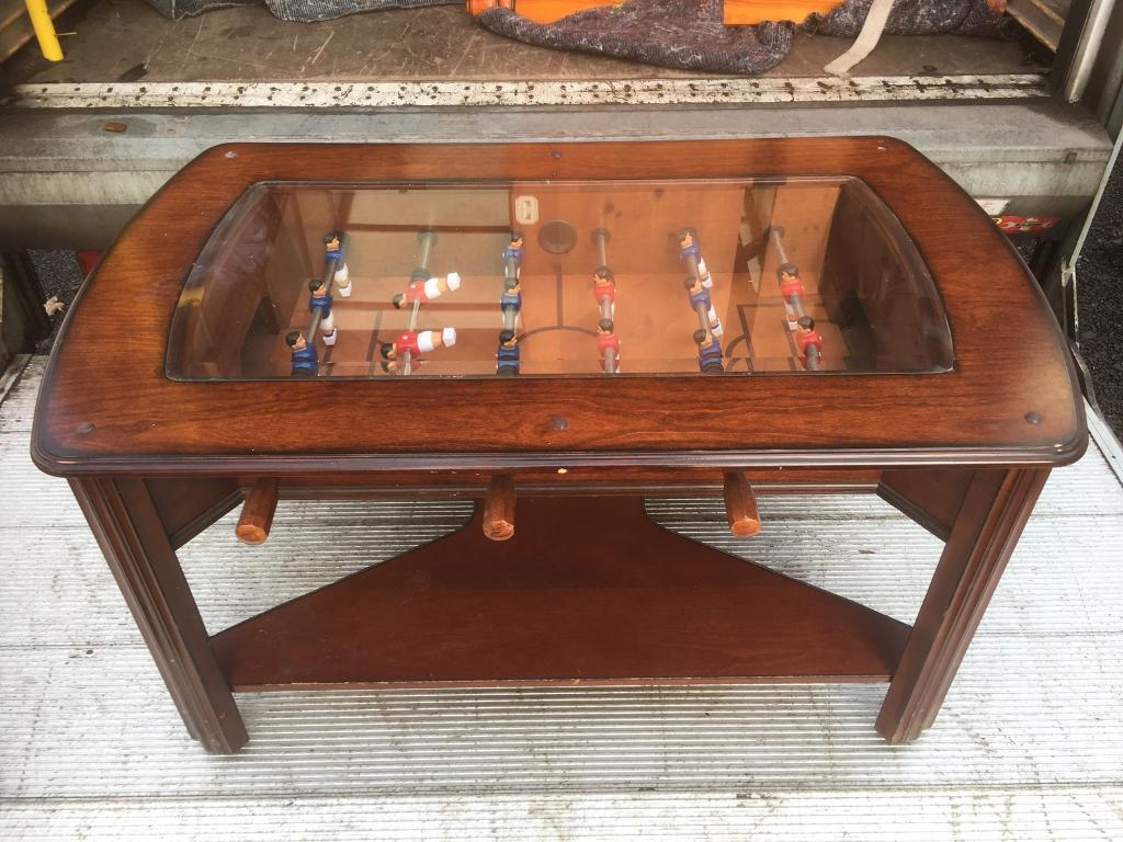 Table football coffee table free furniture delivery in table football coffee table free furniture delivery geotapseo Gallery