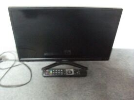 Black Polaroid 24inch TV. Still in PERFECT condition model Number 3-24LED 14