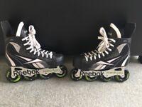 Reebok 2K roller hockey skates size 7