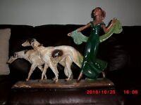 Genuine art deco figurine