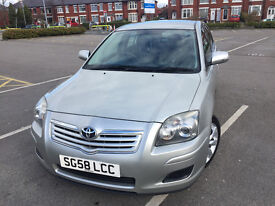 Toyota Avensis 2008 (58) Diesel 2.0 Manual Full Service History Perfect Condition Family Car
