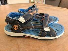 Boys Timberland sandals size 1.5