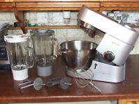 Kenwood Chef Titanium food mixer processor