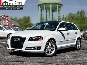 2012 Audi A3 LEATHER AND SUNROOF