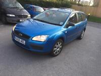 Ford Focus 1.6 tdci 110bhp 2005 estate starts and drive spair or repair