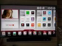 """Lg 55"""" 3D Smart tv/Wireless Sound bar"""
