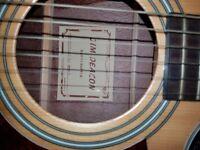 Jim Deacon electro acoustic guitar