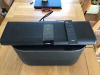 JVC sound box ,subwoofer and remote