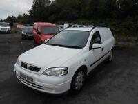 Vauxhall Astra Van, 1.7 Diesel, 12 Months MOT, Good Driver, No Faults