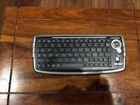 Mini wireless keyboard with built in Track Ball
