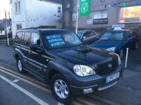 2007 07 Hyundai terracan limited 4x4 2.9 crdt diesel lovely jeep
