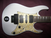 Ibanez RG-350DXZ / RG350DXZ-WH , Electric Guitar / White