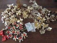 Christmas Present or Cracker Bows/Decorations