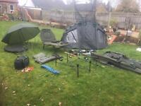 No1 Carp fishing setup - daiwa - shimano - fox Korda nash JOHN WILSON solar JRC chub JUST £475