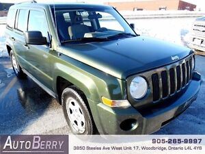 2008 Jeep Patriot Sport *** Certified and E-Tested *** $5,999