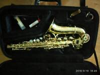 Saxophone soprano Elkhart deluxe curved