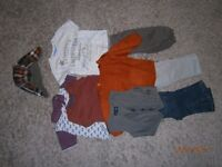 Baby boy 6/9 months outfits bundle