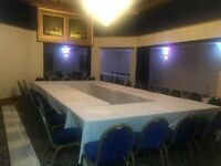 LARGE FUNCTION ROOMS AVAILABLE FOR ALL TYPE OF OCCASIONS!