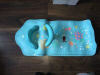 Mothercare bath seat and mat