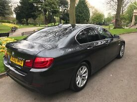 2010 (60) BMW 520d CARBON GREY *9 MONTH WARRANTY* BEIGE INTERIOR ELECTRIC SUNROOF CLEAN TIDY CAR